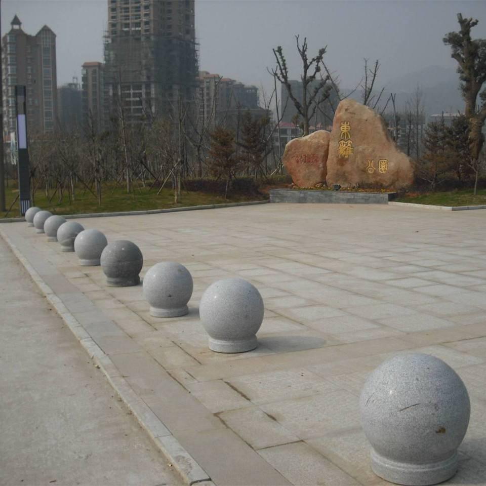 传统石头路墩
