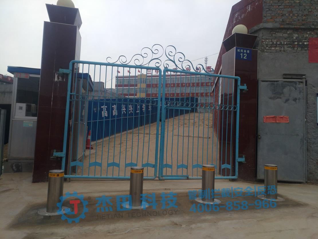 陕西省米脂县第三中学升降柱