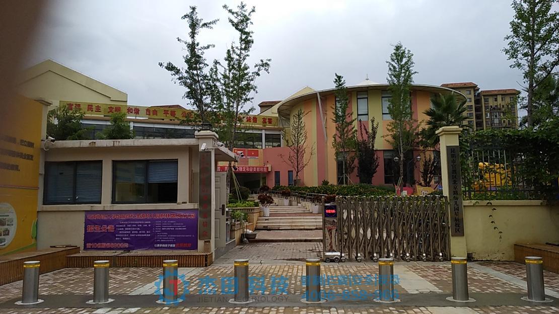 云南官渡北京路幼儿园升降柱