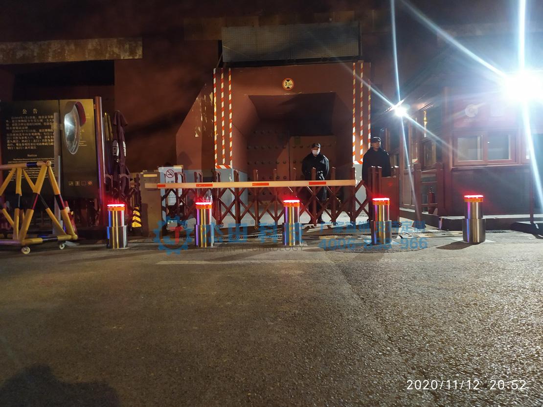 北京故宫博物院东华门双级气动升降柱项目